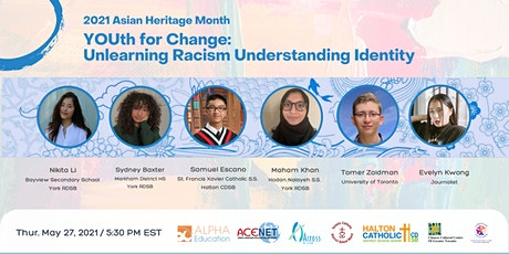 YOUth for Change: Unlearning Racism Understanding Identity  2021 AHM tickets