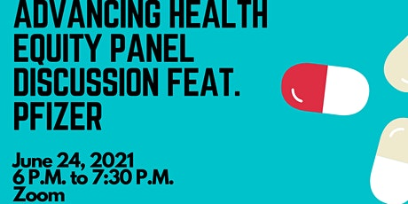 Advancing Health Equity Panel Discussion feat. Pfizer tickets