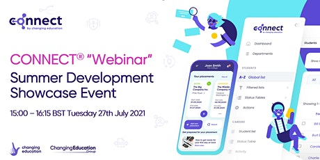 CONNECT Webinar - Summer Development Showcase Event tickets