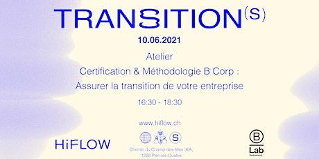Certification & Méthodologie : assurer la transition de votre entreprise tickets