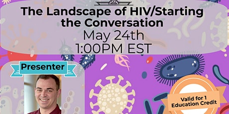 The Landscape of HIV/Starting the Conversation tickets