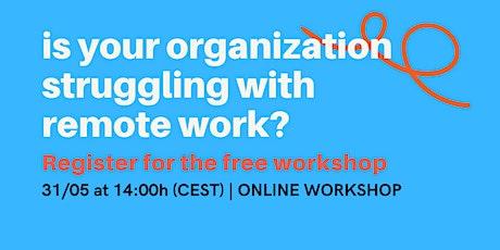 Remote Work Audit Workshop Tickets