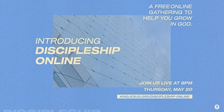 Discipleship Online - May tickets