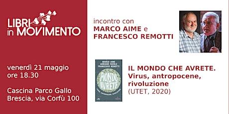 Incontro con Marco Aime e Francesco Remotti biglietti