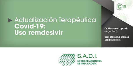 Actualización terapéutica COVID-19: Uso de remdesivir. entradas