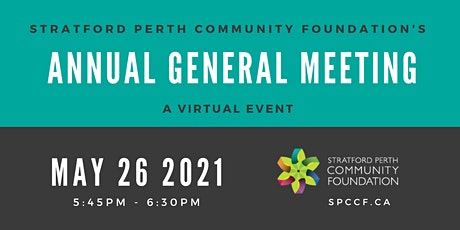 Stratford Perth Community Foundation Annual General Meeting tickets