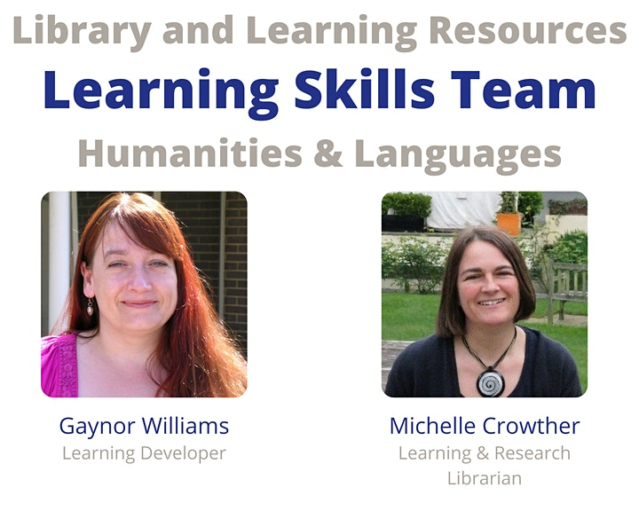 Learning Skills Induction for Humanities & Languages image