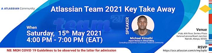 Atlassian Team 2021 Key Takeaway. image