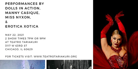 Dance and theatre fundraiser night tickets
