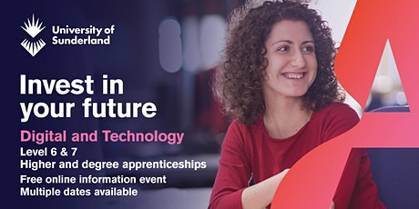 Level 6 & 7 Digital and Technology Apprenticeship - Information Event tickets