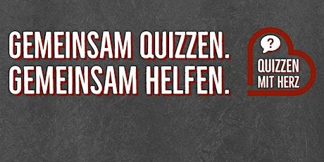 Quizzen mit Herz - Das Online-Kneipenquiz für den guten Zweck Tickets