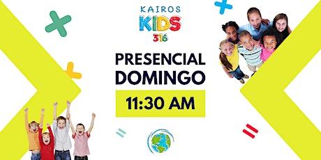 Kairos Kids - 11:30 AM - Iglesia Kairos boletos