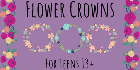 Pride for Teens: Flower Crowns tickets