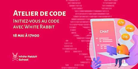 Initiez-vous au code avec White Rabbit Code School ! tickets