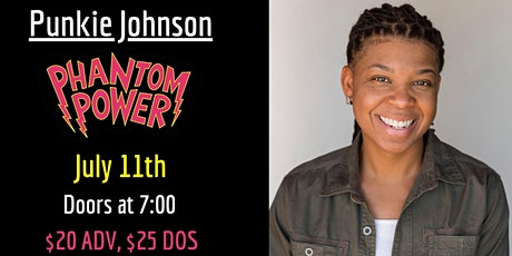 Punkie Johnson - from SNL tickets