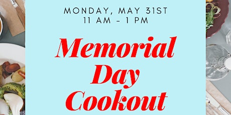 Memorial Day Community Cookout tickets