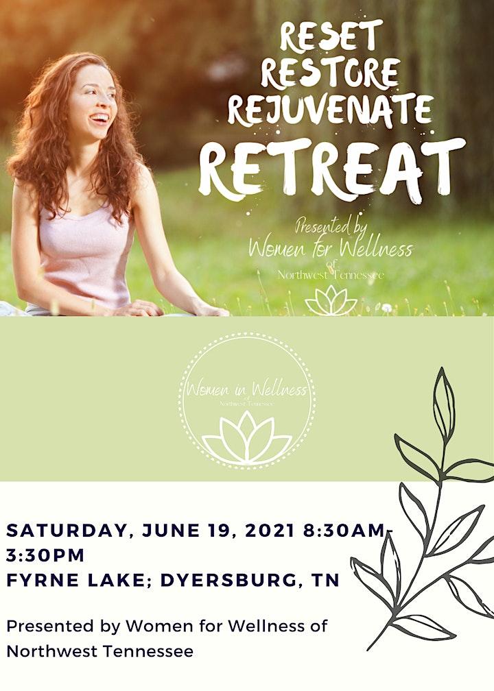 Reset Restore Rejuvenate Retreat image
