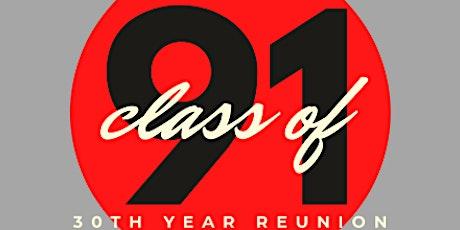 FFCHS Class of 1991 Thirty Year Reunion tickets