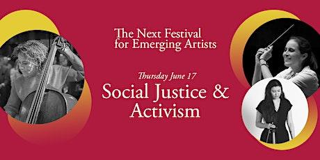 Next Festival 2021: Social Justice & Activism, June 17 tickets