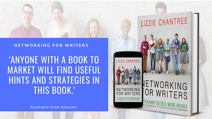 Pen to Print:  Networking for Writers with Lizzie Chantree image