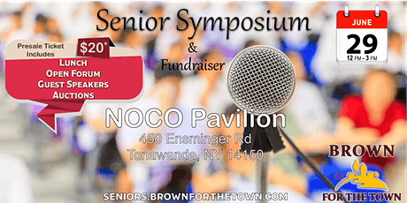 Brown for the Town Senior Symposium & Fundraiser tickets