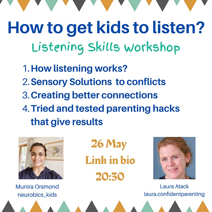 How to get your kids to listen image