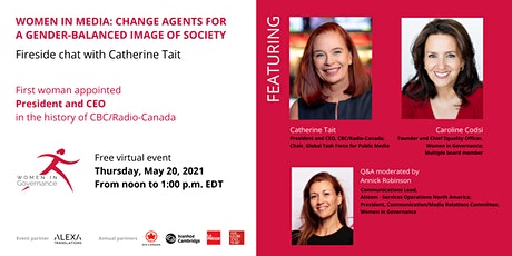 Women in Media: Fireside chat with Catherine Tait tickets