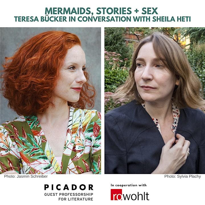 MERMAIDS, STORIES AND SEX - Sheila Heti in conversation with Teresa Bücker image