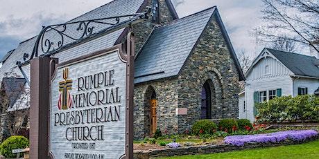 11am In-Person Worship Services Rumple Memorial Presbyterian Church tickets
