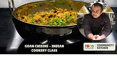 Goan cuisine – Indian cookery with Chef Kanthi from Easy Tiger (in person) tickets
