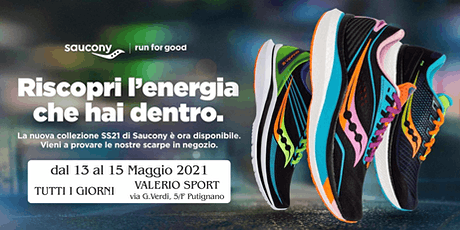 SAUCONY TEST SHOES 2021 con Luca Quarta tickets