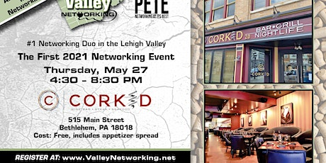 Valley Networking at Corked 2.0 tickets