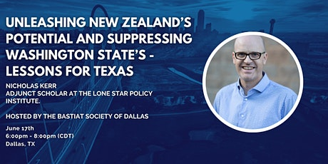 Dallas: Unleashing New Zealand's Potential- Lessons for Texas tickets