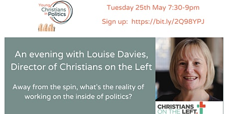 YCIP May gathering: An evening with Louise Davies tickets