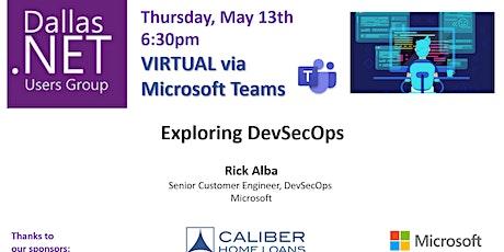 Exploring DevSecOps with Rick Alba tickets