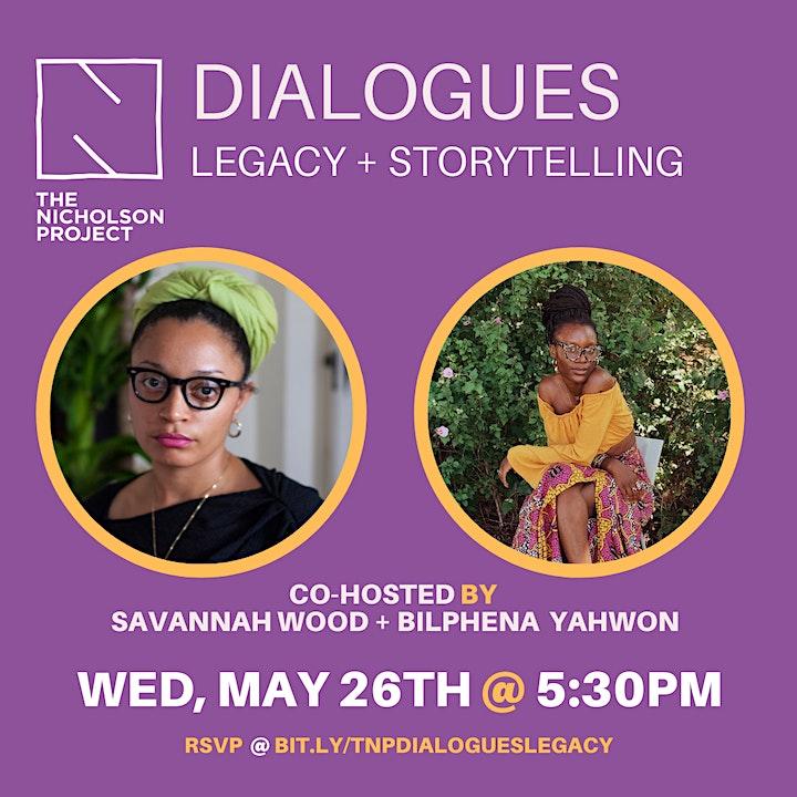 TNP Dialogues: Legacy + Storytelling image