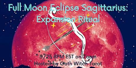 Lunar Eclipse Sagittarius: Expansion Ritual tickets