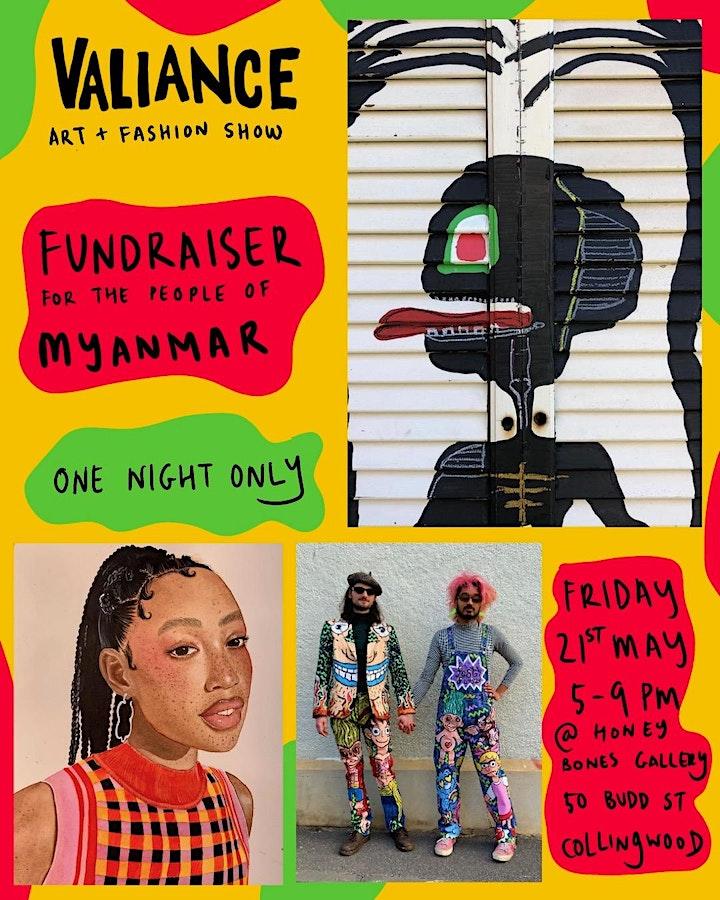 VALIANCE EXHIBITION - Fundraiser for Myanmar image