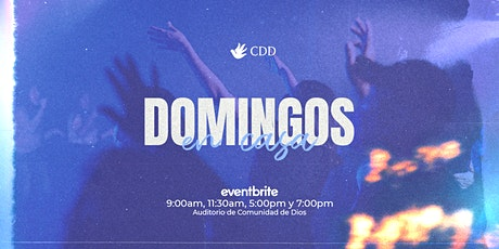 Reunión 11:30AM - Domingo Especial 16/MAYO boletos