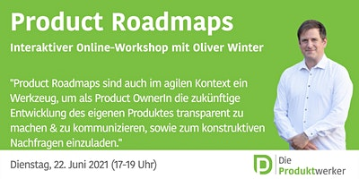 Agile Product Roadmaps – interaktives Live-Event