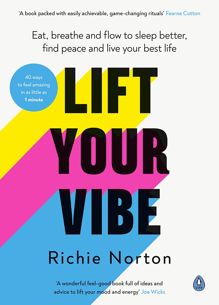 Sleep Better, Find Peace and Live Your Best Life   Richie Norton image
