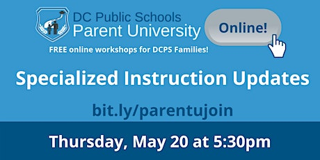 Specialized Instruction Updates tickets
