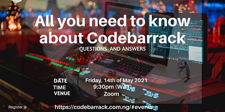 All you need to know about codebarrack tickets