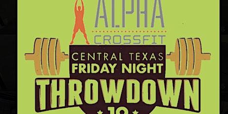 2021 Alpha Crossfit Central Texas Friday Night Throwdown tickets