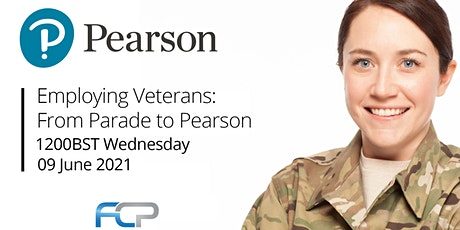 Employing Veterans: From Parade to Pearson tickets