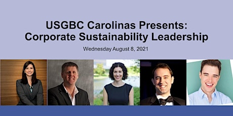 USGBC Carolinas Present: Corporate Sustainability Leadership tickets