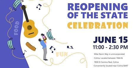 REOPENING OF THE STATE celebration tickets