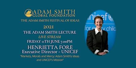 Adam Smith Annual Lecture 2021 tickets