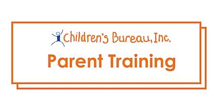 Parent Training: Independent Living Skills tickets