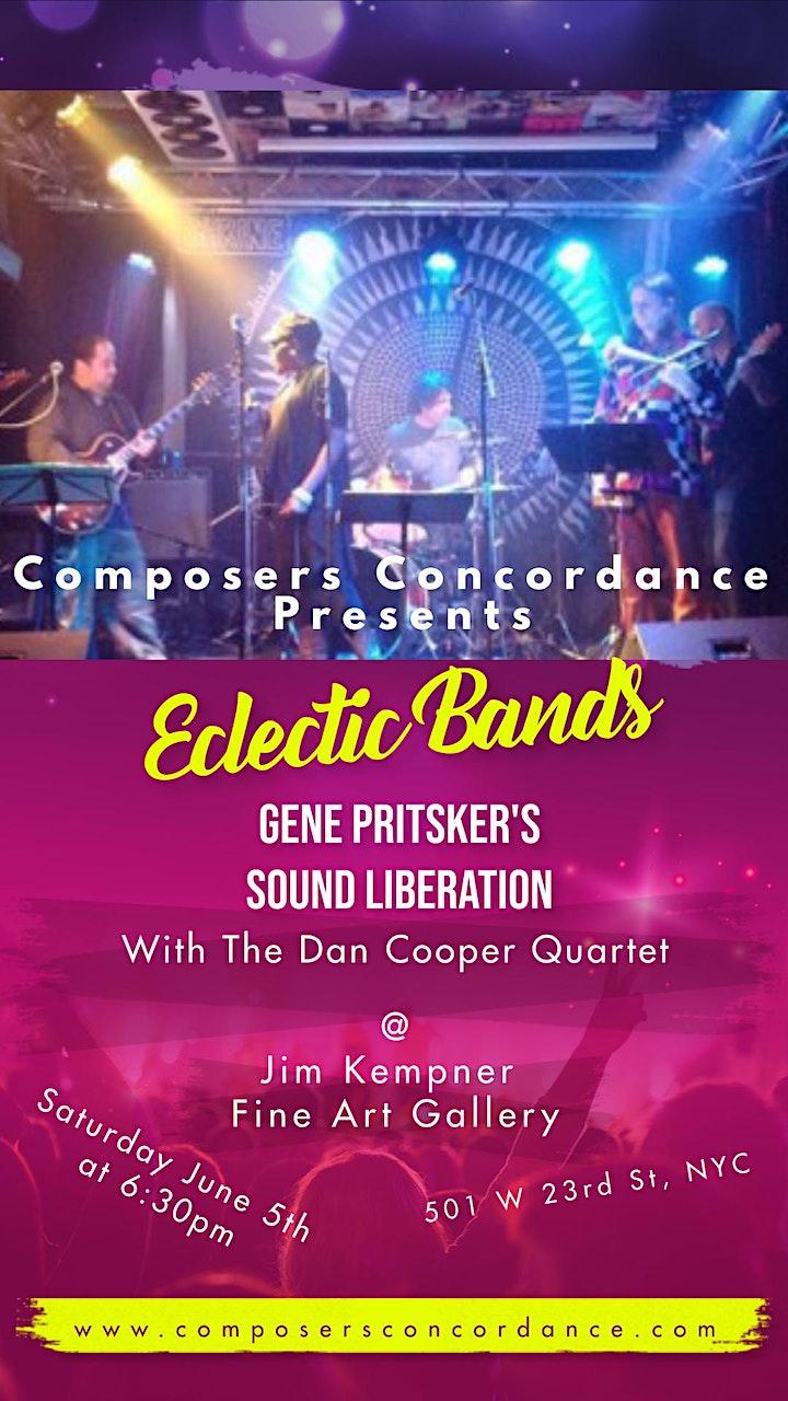 Eclectic Bands feat. Gene Pritsker's Sound Liberation & Dan Cooper Quartet image